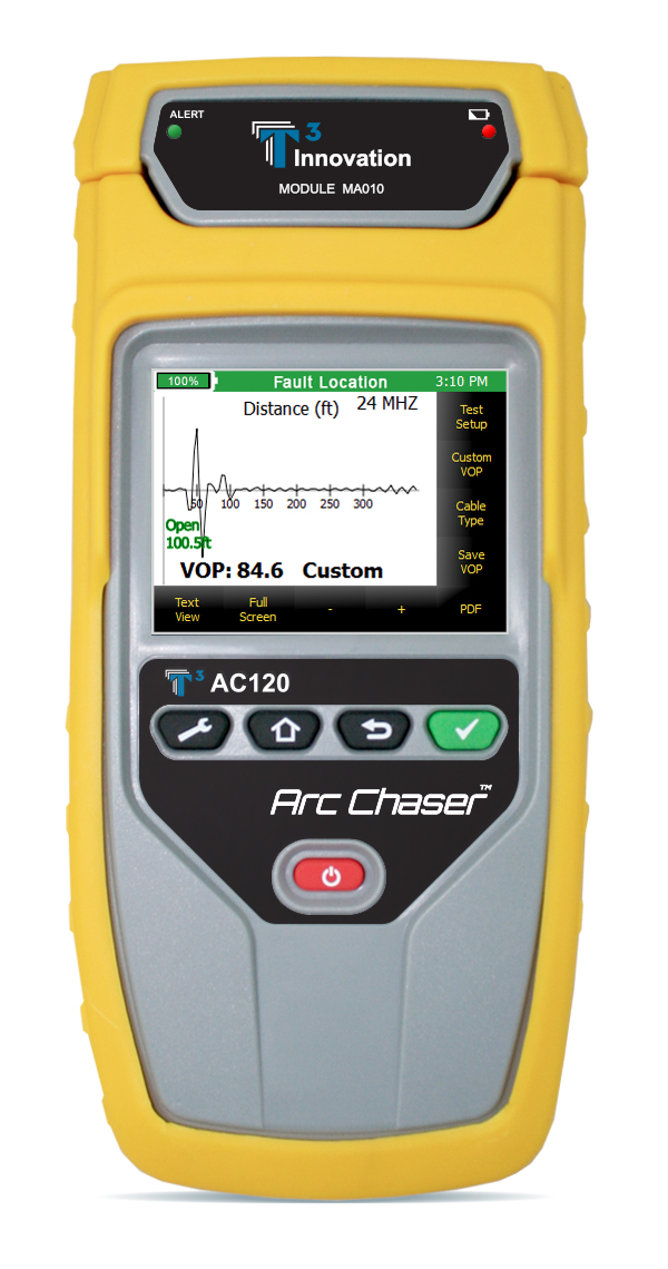 Cable Tester Tdr For Testing And Monitoring Arc Chaser