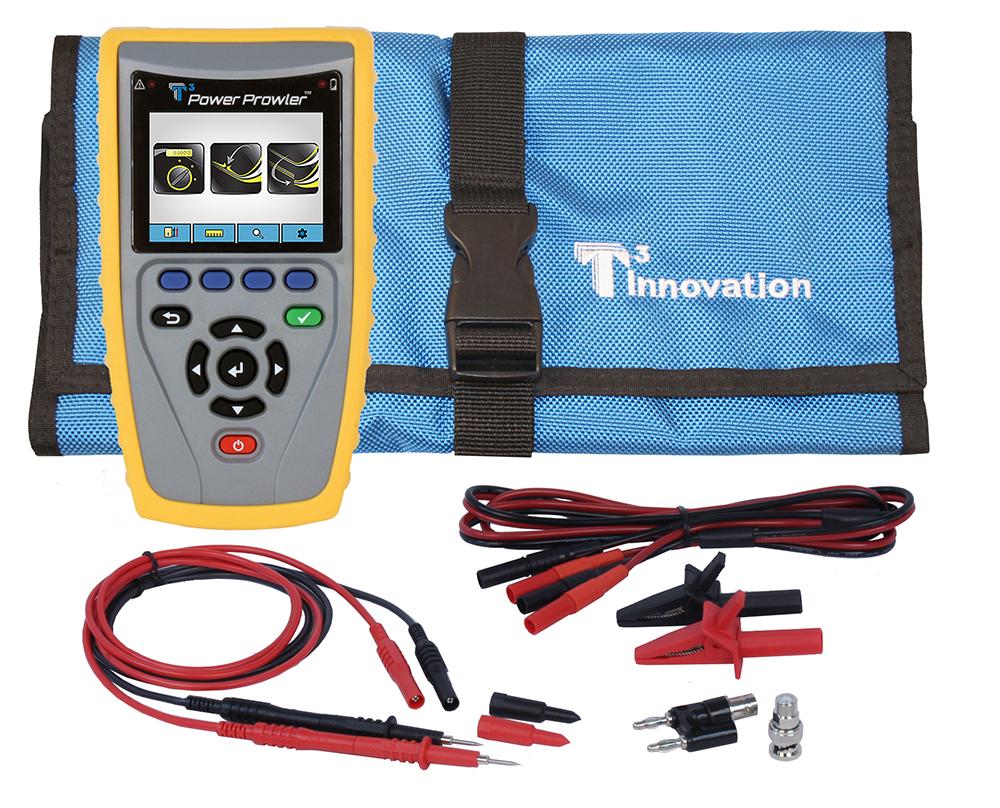 Digital Multimeter, TDR, Fault Finder: Power Prowler | T3 Innovation